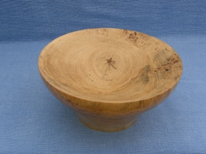 Spalted cottonwood