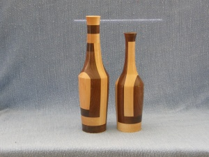 Walnut and maple